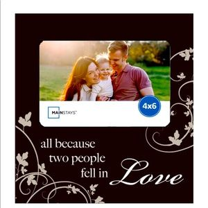 ♥️ LOVE PICTURE FRAME (4x6) ♥️